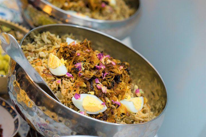 Mujaddarah – Rice & lentils with caramalized onions