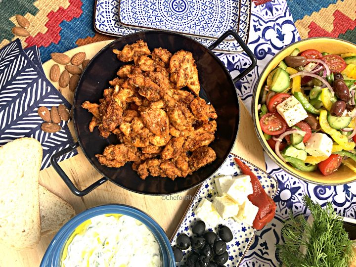 Chicken Gyros – Quick & Easy