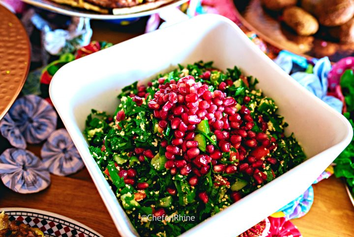 Tabbouleh – parsely & bulgur salad