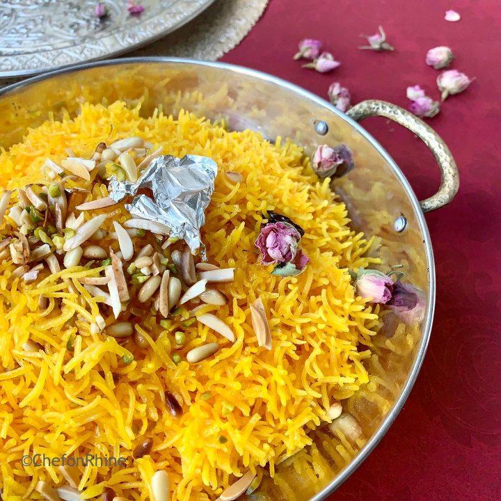 Zarda – The Easiest Recipe Ever !