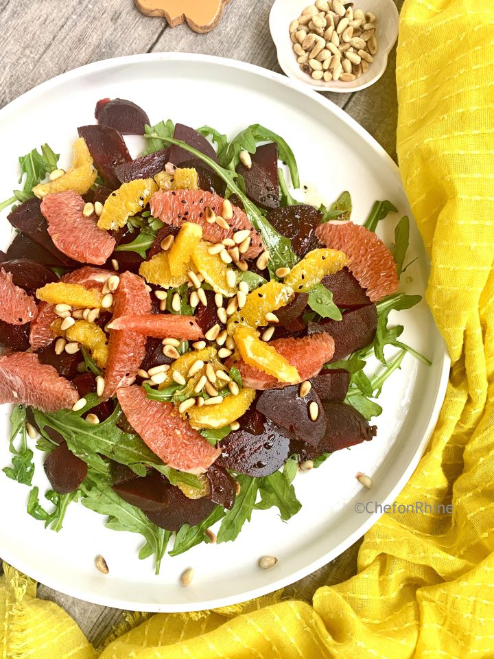 Beetroot Citrus Salad