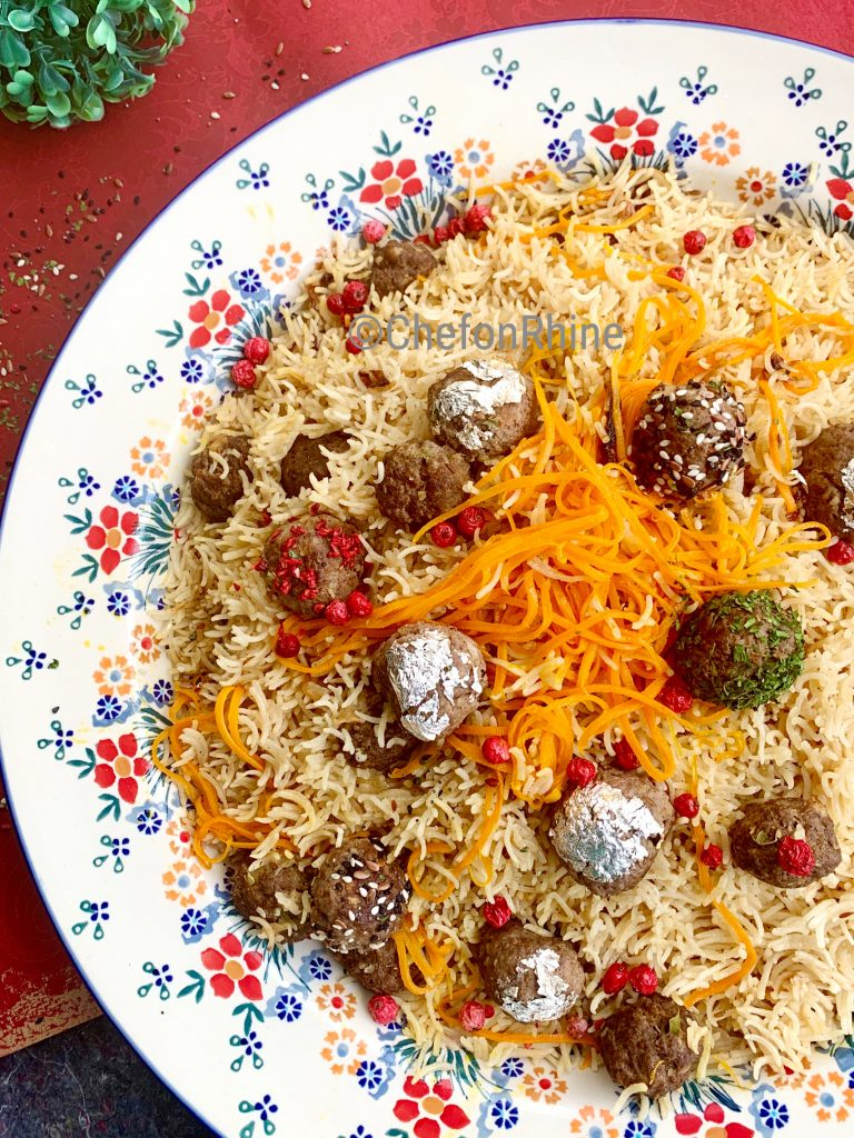 Meatball-Kofta_Rice