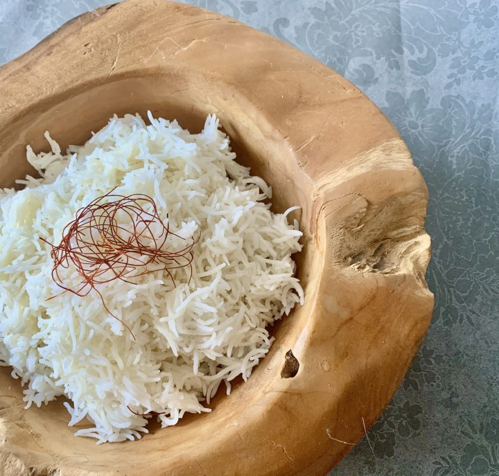 Cooking basmati the right way