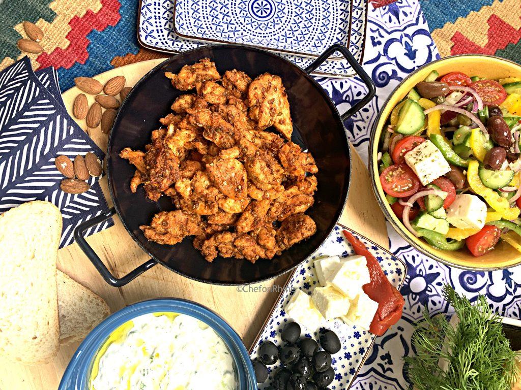 Chicken-gyros-pan