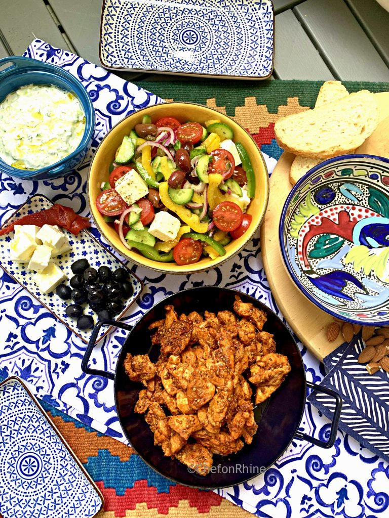 Greek-Chicken-Gyros