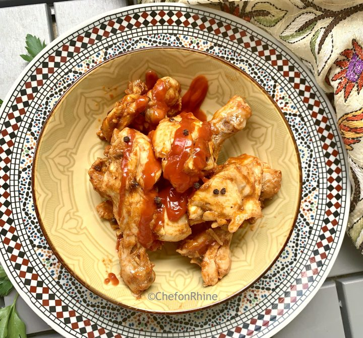 Ketchup glazed Chicken