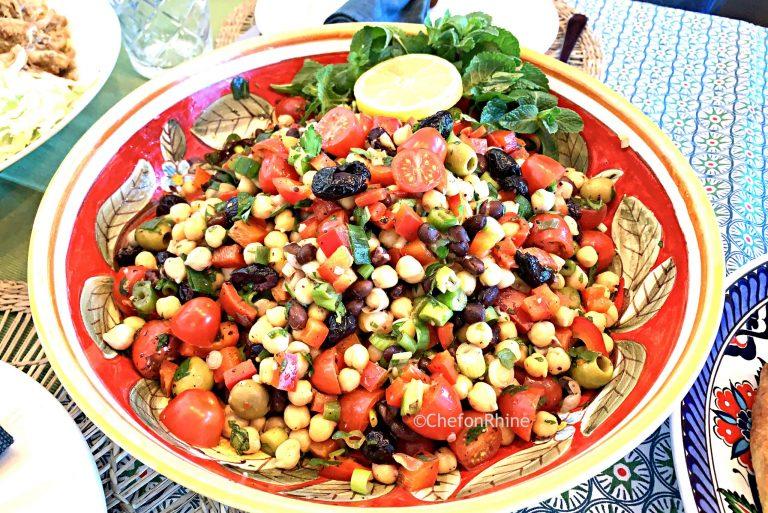 chickpea-beans-salad