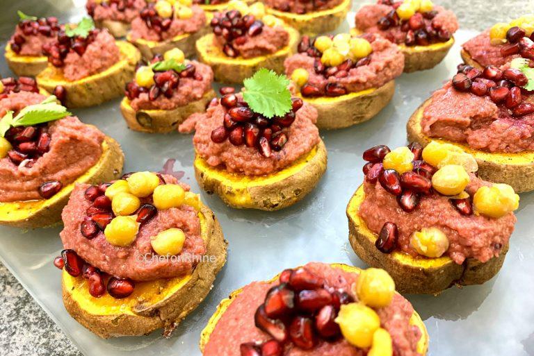 hummus-beets