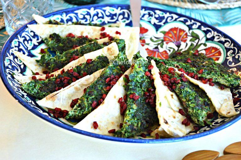 persian-herbs-omletette