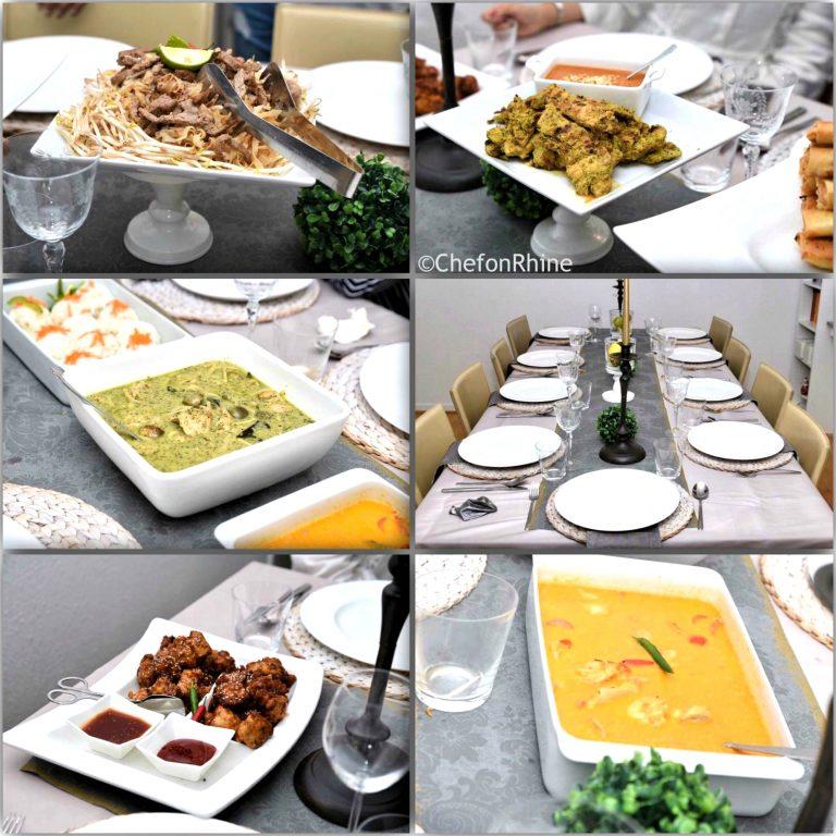 Thai-dinner