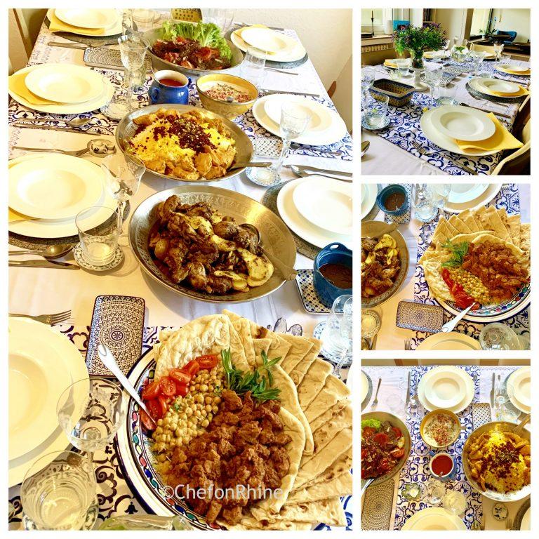 elegant-food-setting