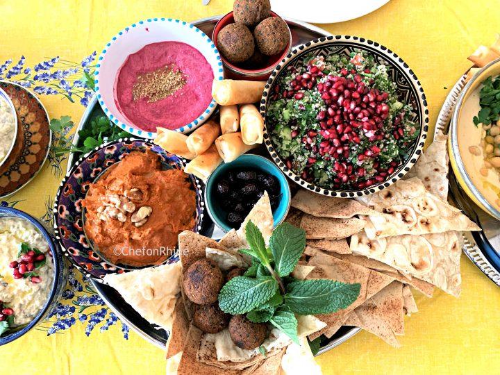 Mezze – the perfect party platters